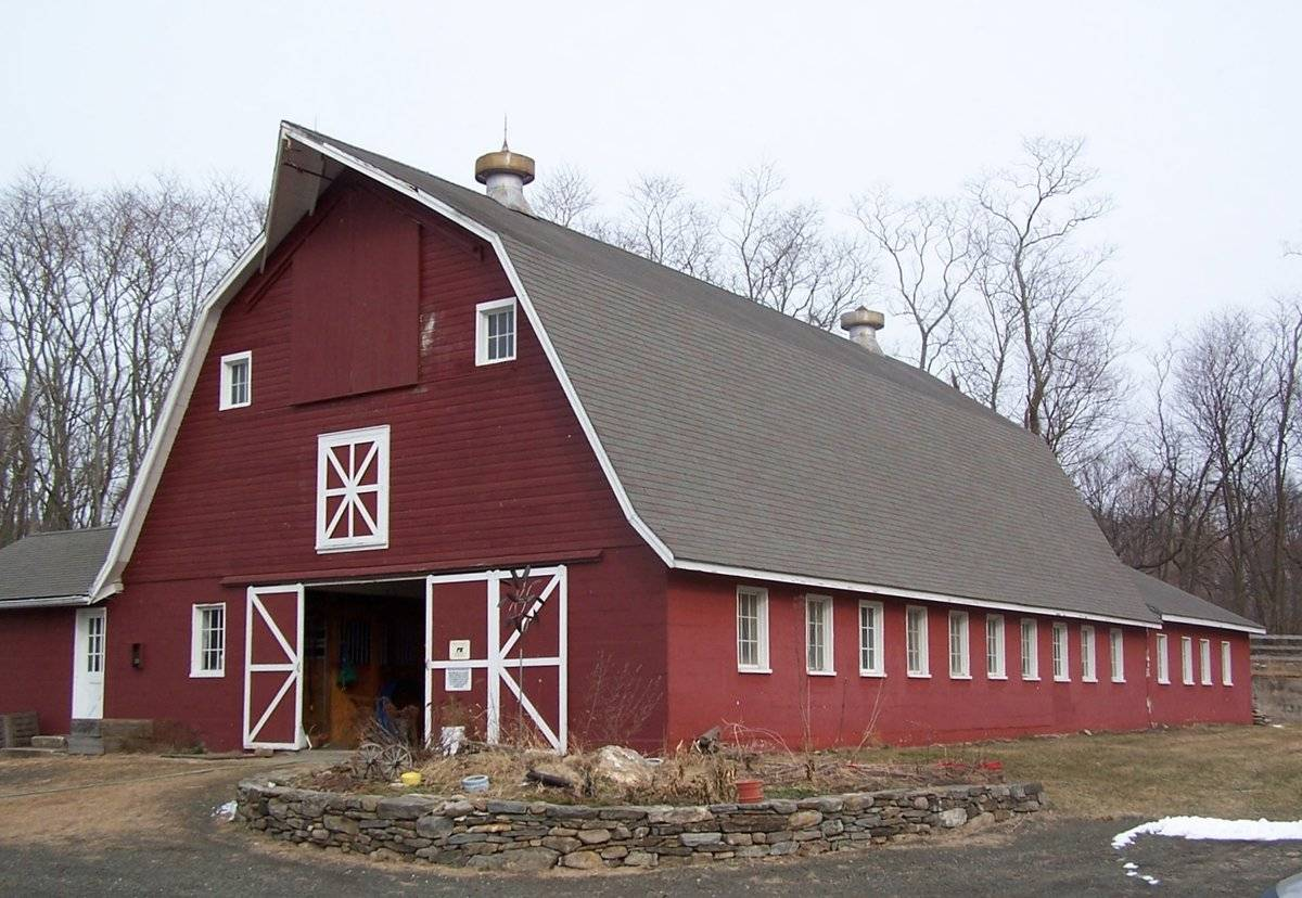 Gambrel Roof Barn The Image Kid Has It