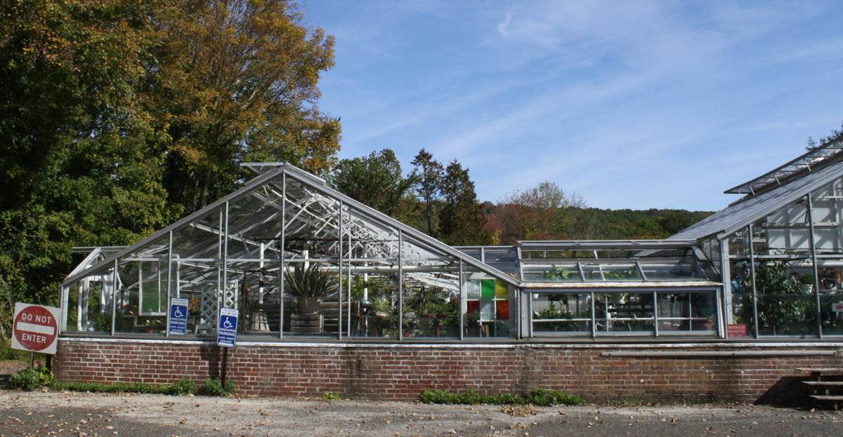 Southbury Training School Greenhouse 1461 South Britain