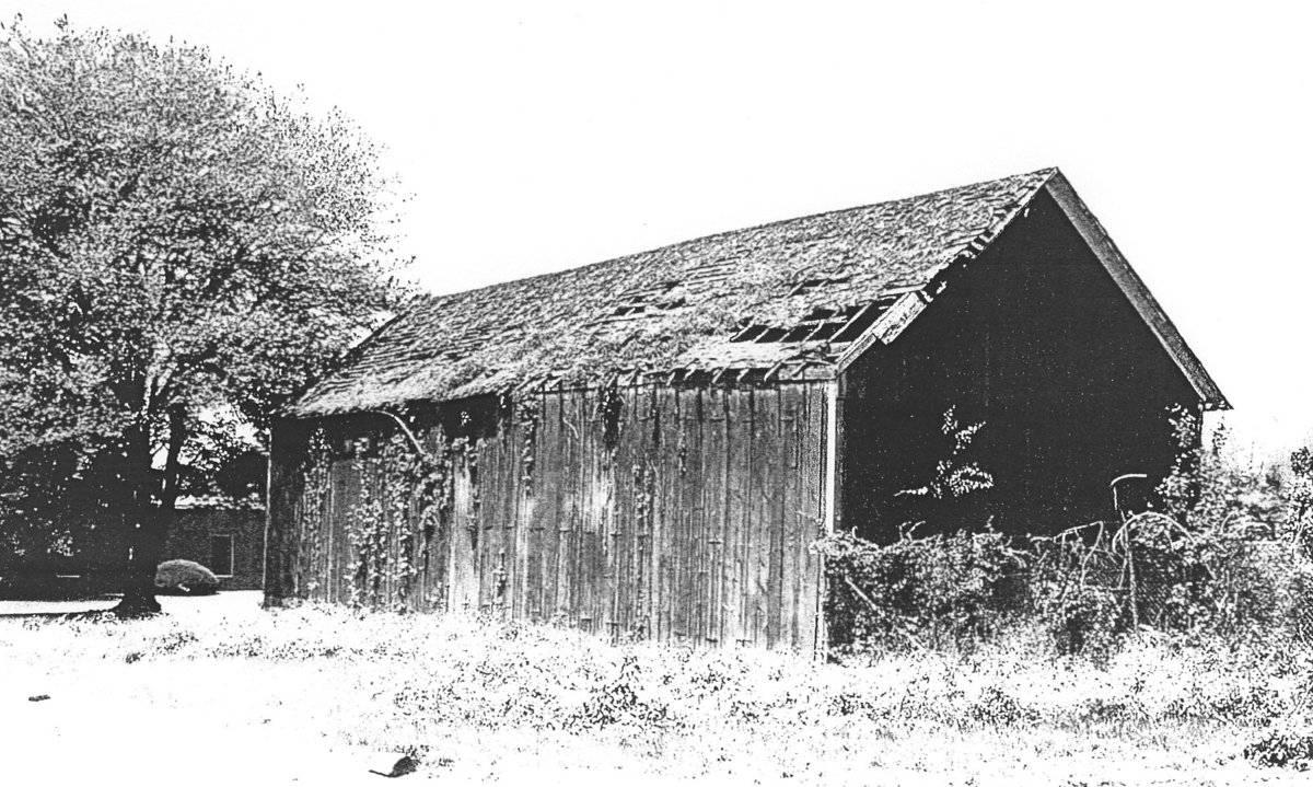 Welles Shipman Ward House Tobacco Shed Barns 972 Main